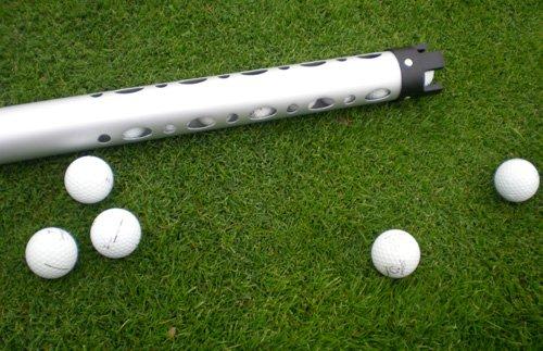 Forza tube ramasse-balles 21 en aluminium pour balles de golf