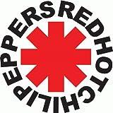 RHCP Red Hot Chili Peppers Rock Music De Haute Qualite Pare-Chocs Automobiles Autocollant 12 x 12 cm