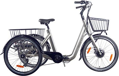 elektro dreirad erwachsene Monty Klappbares Elektro Dreirad für Erwachsene E134