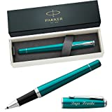 PARKER Tintenroller URBAN Vibrant Blue C.C. 1931585 mit persönlicher Laser-Gravur