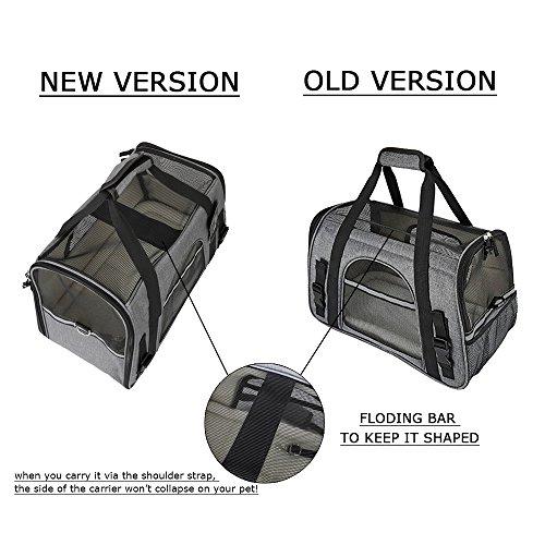 petshoney nouveau sac de transport souple pour chat et. Black Bedroom Furniture Sets. Home Design Ideas