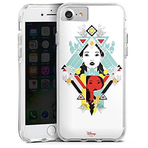Apple iPhone 6s Plus Bumper Hülle Bumper Case Glitzer Hülle Disney Pocahontas Merchandise Geschenk Bumper Case transparent