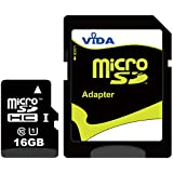 Nouvelle Vida IT 16Go Carte mémoire Micro SDHC pour Alcatel - One Touch Evo 7 - One Touch Evo 7 HD - One Touch Fire - One Touch Idol Téléphone mobile - Tablette PC - Garantie à vie