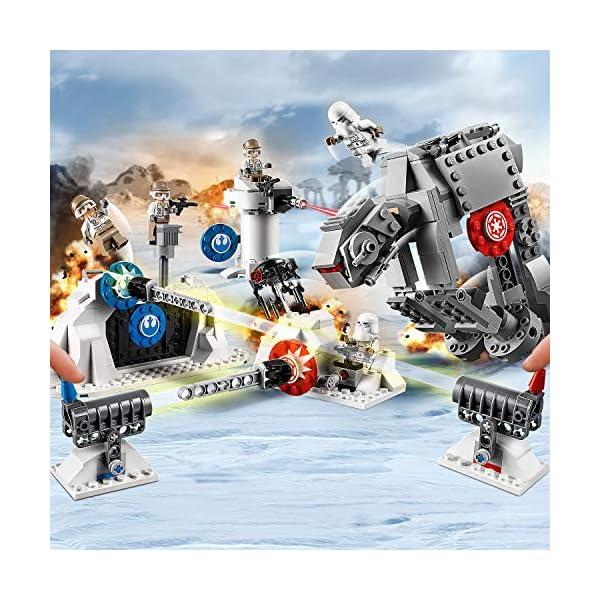 LEGO Star Wars Action Battle Difesa della Echo Base con 2 Snowtrooper e 3 Rebel Trooper, Set di Costruzioni per Ragazzi… 5 spesavip