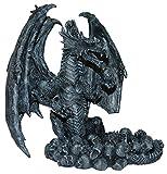 Drachen Aschenbecher Gothic Fantasy Deko Figur