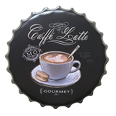 Bouteille Retro Cap Tin Sign Cafe Bar Pub Art Métal Poster Mur Plaque Décor - 70