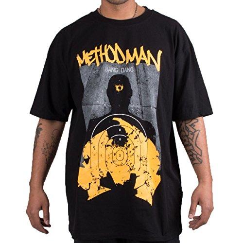 Wu Wear - Wu Tang Clan - Wu Method Man Bang Bang T-Shirt - Wu-Tang Clan Size S, Color Black