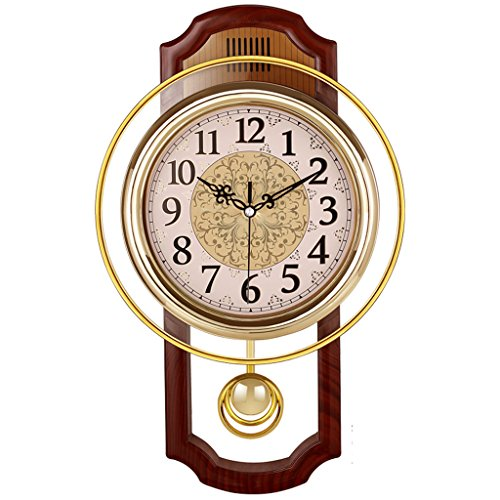 Se Trata De Un Europeo, Vendimia, Mute, Swing, Reloj De pared Forma: Perfil Color: Natural, Amarillo Tamaño: 43 * 27cm *. 46 * 27cm,  Espesor: 6cm Material De Shell: El plastico Espejo Material: Vaso Dial De Material De: Pvc Tipo De Movimiento: Movim...