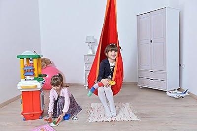 Loli Kids DLX Kinder Hängehöhle 90 kg Belastbarkeit inkl. Drehwirbel + extra groß in versch. Farben von Lola Hängematten - Gartenmöbel von Du und Dein Garten