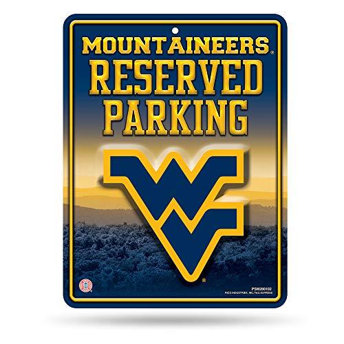 Générique NCAA Haute résolution en métal de Parking Sign, West Virginia Mountaineers