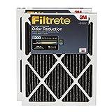 Filtrete Allergen Defense Odor Reduction Filter, MPR 1200, 20 x 25 x 1-Inches