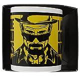 Breaking Bad MG22466 - Taza de cerámica, diseño de Breaking Bad con texto en inglés - Taza Breaking bad I am the one who knocks