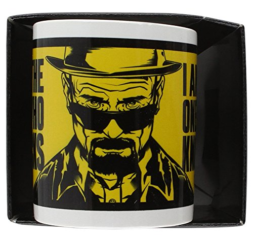 "Breaking Bad - Tazza in ceramica, 1 pezzo, ""I Am The One Who Knocks"""