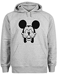 Mickey Mouse Swag Trippy Disney Dope Fuck Sudadera con capucha unisex