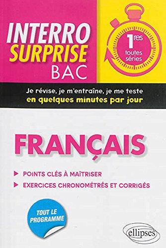 Interro Surprise Bac Français Premières Toutes Séries