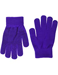 Shires Equestrian kid's Sure Grip Gloves - Purple, One Size