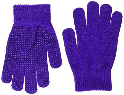 Shires Equestrian Suregrip Reitsport-Handschuhe Weiß violett Für Erwachsene