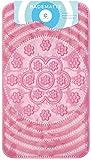 Circul Badewannenmatte 66 x 38 cm pink Muster