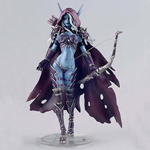 World of Warcraft Darkness Ranger Lady Sylvanas Windrunner 7' Resin Action Figure Collection Model Wow