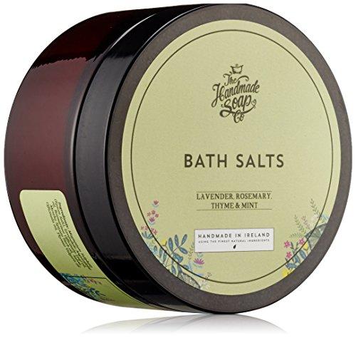 The Handmade Soap Company Lavendel, Rosmarin und Minze Badesalz 200g -