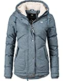 Navahoo Damen Winter-Jacke Steppjacke Smoothy 7 Farben XS-XL 1