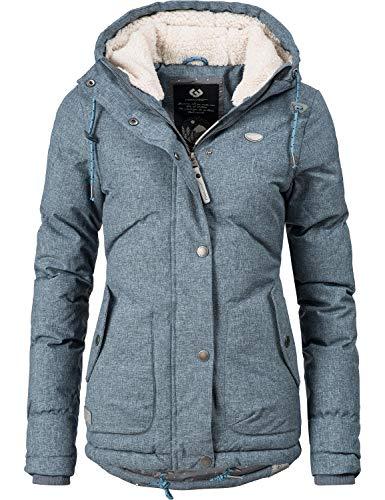 Navahoo Damen Winter-Jacke Steppjacke Smoothy 7 Farben XS-XL