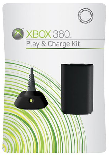 Xbox 360 - Play & Charge Kit Black