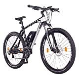"NCM Prague E-Bike Mountainbike, 250W, 36V 13Ah 468Wh Li-Ion Akku, 26'/27,5""/29' Zoll (29' Schwarz)"