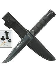 Couteau de survie, de chasse, à porter à la ceinture HK 690B