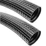 BeMatik - Tubo corrugato Flessibile Esterno per Cavi Guaina M-32 23mm 10m