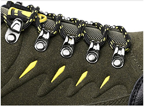 Scarpe da trekking da uomo Scarpe da trekking basse Scarpe da arrampicata per il tempo libero Scarpe da viaggio Anti-skid Impermeabile Air Tech Shock assorbente Fitness Palestra Sport Outdoor Scarpe Gray