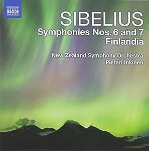 Jean Sibelius : Symphonies n° 6 et n° 7 - Finlandia, op.26