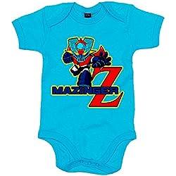 Body bebé Mazinger Z - Celeste