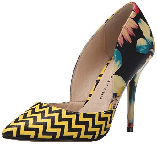 Chinese Laundry Stilo Femmes Synthétique Talons flower yellow