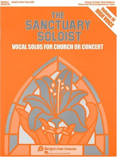 Title: The Sanctuary Soloist With CD Audio