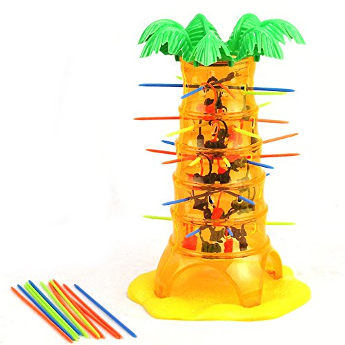 (sunshineBoby Lernspielzeug - HEISSES Fallendes Fallendes Fallendes AFFE-Familien-Spielzeug (eine Größe) kletterndes Brettspiel-Kinder Für Kinder (Mehrfarbig))