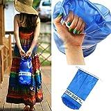 Arvin87Lyly Transparent Waterproof Dry Bag Leicht mit Schultergurt Taschen hält persönliche Artikel Trocken & Geschützt für Bootfahren, Strand, Kajak, Schwimmen und Reisen