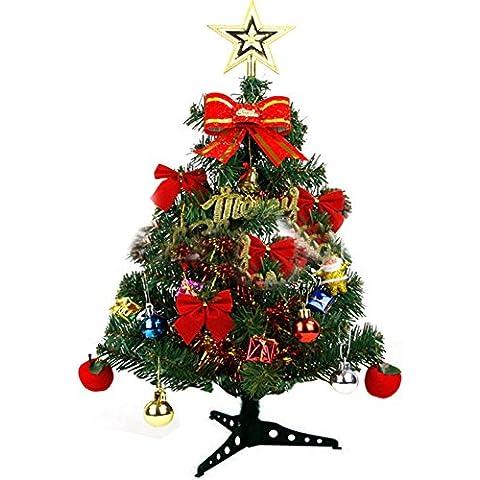 jacktom 60cm in altezza albero di Natale