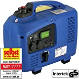 DENQBAR 2,2 kW Inverter Stromerzeuger Notstromaggregat Stromaggregat Digitaler Generator benzinbetrieben DQ2200E mit E-Start