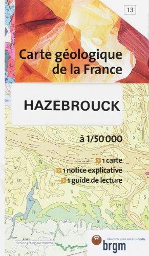 Carte géologique : Hazebrouck