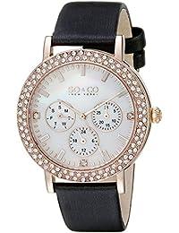 SO & CO New York 5216L.5 - Reloj de cuarzo para mujeres, negro