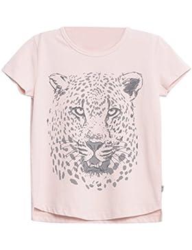 Wheat Mädchen T-Shirt Leopardenkopf