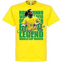 Retake Ronaldinho Leyenda Camiseta – Amarillo