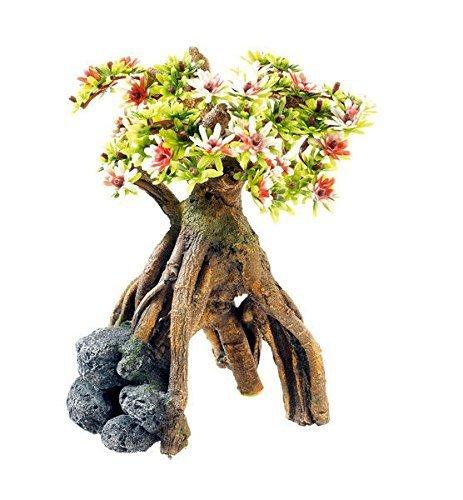 Aquarium-Ornament-Bonsai-Tree-Reptile-Vivarium-Plant-Decoration