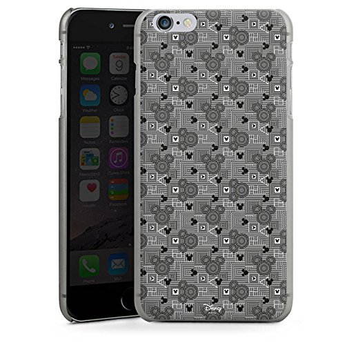 Apple iPhone X Silikon Hülle Case Schutzhülle Disney Mickey Mouse Geschenke Fanartikel Hard Case anthrazit-klar