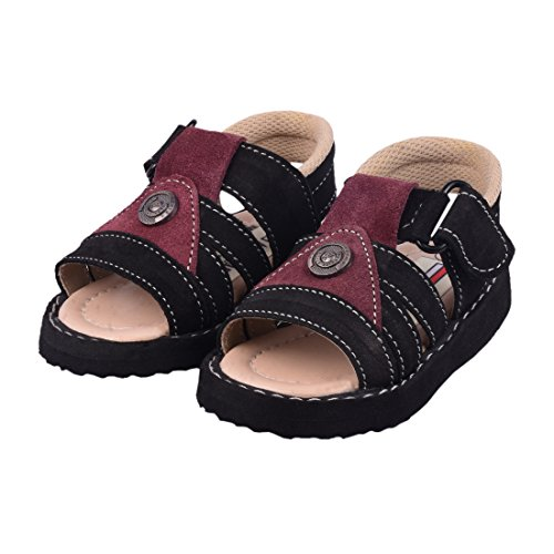 ASTRO MARTIN TOMMY 019 KID'S LEATHER SANDAL-CHESTNUT FOR AGE 1-2 YEARS OLD KIDS UK-3