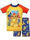 Disney - Maillot de Bain Deux pièces - La Garde du Roi Lion - Garçon - Multicolore...