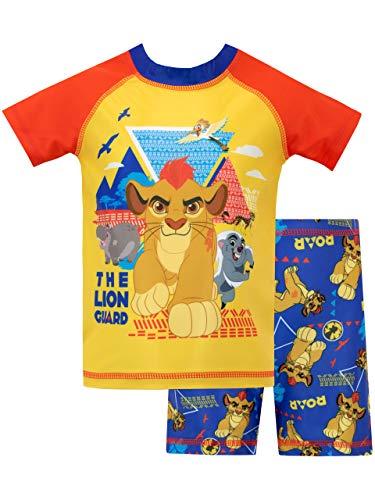Disney Bañador de Dos Piezas para niños La Guardia del León Multicolor 3-4 Años