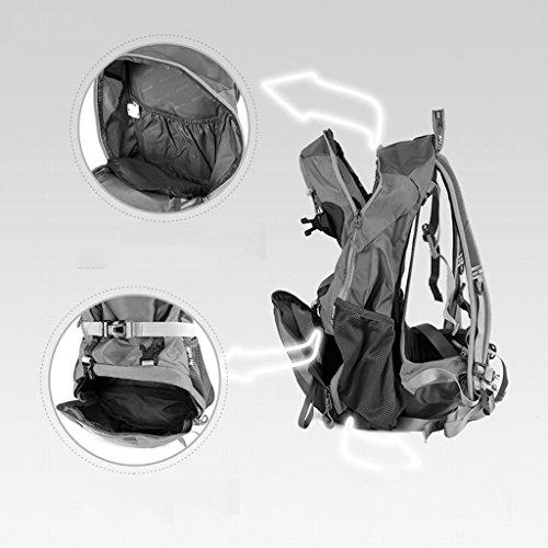 AMOS Borsa da viaggio alpinismo borsa da viaggio all'aperto multifunzionale 30L ( Colore : Grigio ) Grigio