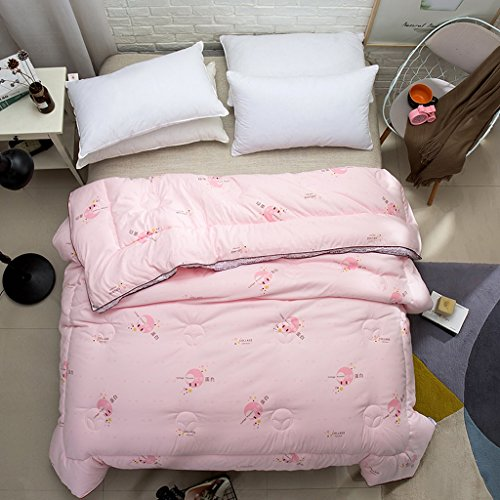 MMM Style européen Tridimensionnel plus épais Conservez un couvre-chef d'hiver chaud Couchette en coton double Literie individuelle (Couleur : #4, taille : 200 * 230cm(3.5kg))